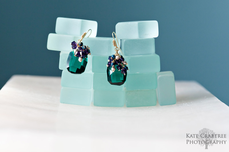 Maine commercial photographer Kate Crabtree took photos of jewelry from Reflections Jewelry