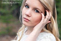 Kate Crabtree showcases her senior portrait magazine