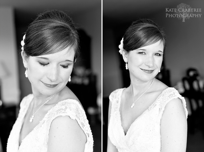 Maine photographer Kate Crabtree captures a few portraits of the bride at the Lucerne Inn in Maine