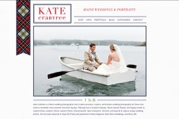 My new website! | Maine Wedding Photographer Website | Maine Wedding Photographer | Kate Crabtree Photography 4