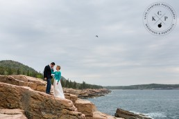 Acadia National Park Vow Renewal Photographer | Alexandra & Federico | Maine Wedding Photographer | Kate Crabtree Photography 8