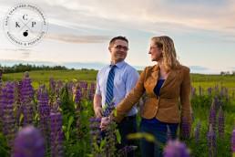 Lexi and Matt's Orono Maine Headshots | Maine Wedding Photographer | Kate Crabtree Photography 9