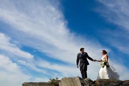 Cape Elizabeth Maine wedding portraits