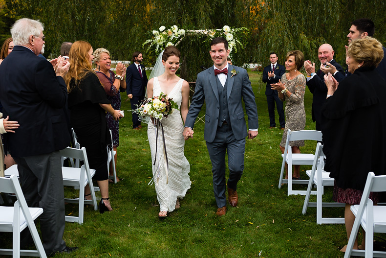 Wedding photography at Pineland farms in New Gloucester, Maine by Kate Crabtree