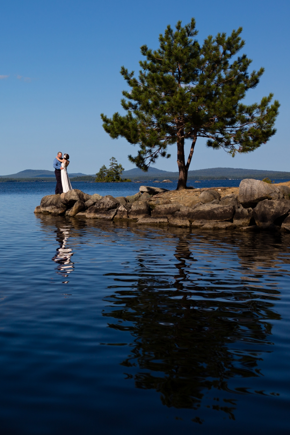Marleah and Ricky's New England Outdoor Center Wedding in ...