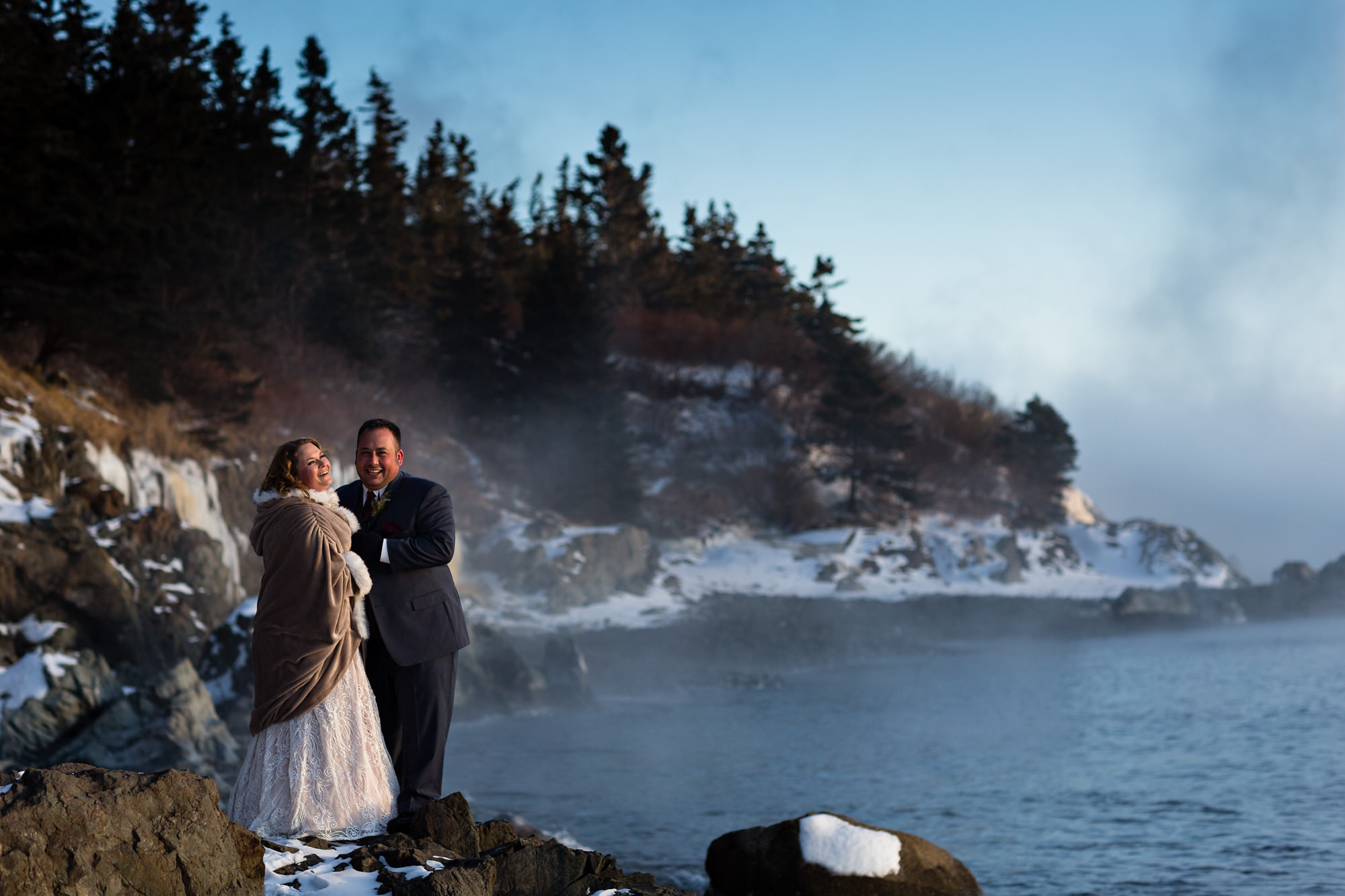 Barb And Kyle S West Quoddy Head Lighthouse Elopement In Lubec Maine Kate Crabtree Photography Maine Wedding Photographer