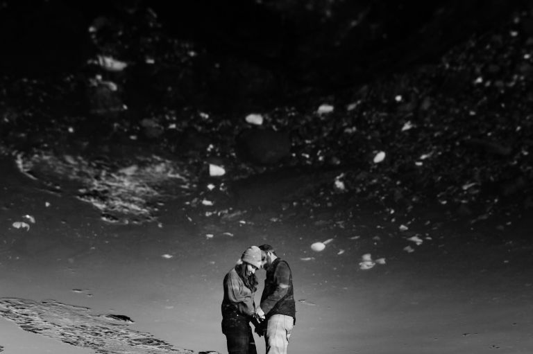 Midcoast Maine engagement portrait
