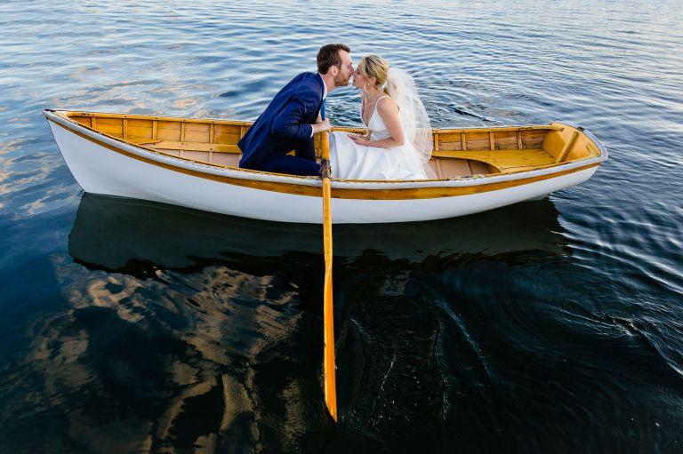 Wedding portraits in Northeast Harbor, MDI, Maine
